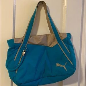 Puma gym tote bag
